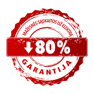 T-Energy 80% garantija