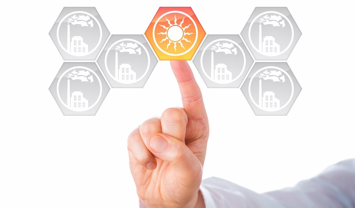 saulės elektrinės verslui