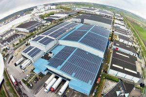 Saulės elektrinės pramonei, logistikai