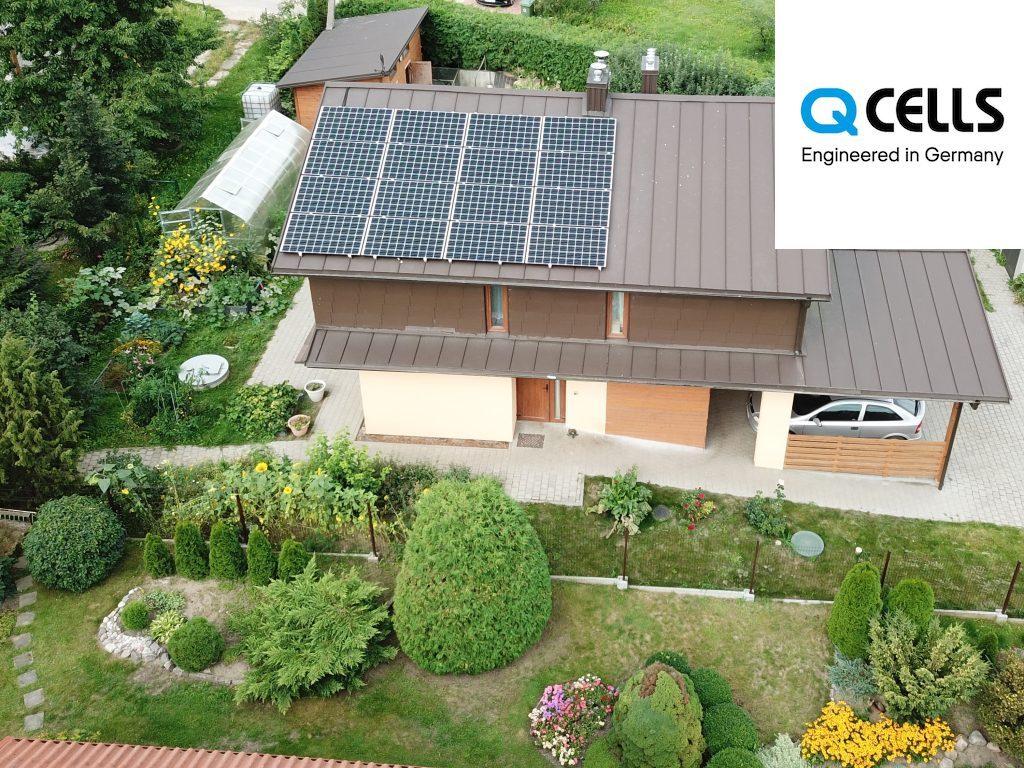Saulės elektrinė, Q-CELLS, Fronius