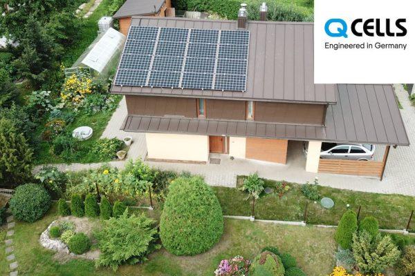 5 kW saulės elektrinė QCELLS