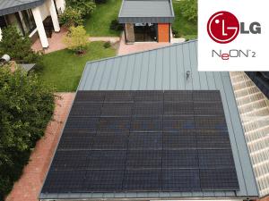 Saulės elektrinė - LG Solar NeoN2