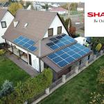 saulės elektrinė moduliai sharp