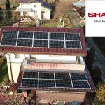 SHARP saulės moduliai