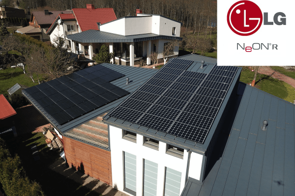 Saulės elektrinė - LG Solar NeON® R