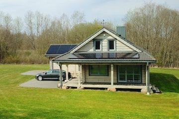 saulės elektrinė namuose, a++