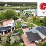 saulės elektrinė moduliai LG Solar