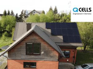 Saulės elektrinė Q CELLS