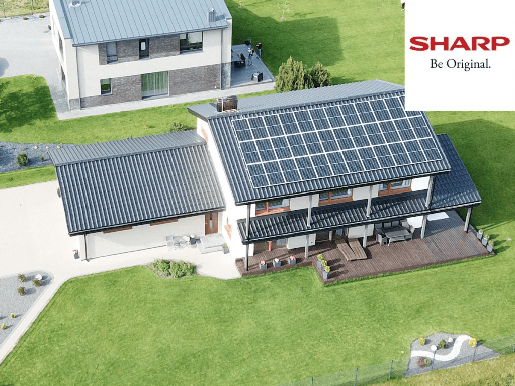 12 kW saulės elektrinė SHARP