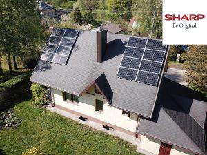 5,28 kW saulės elektrinė