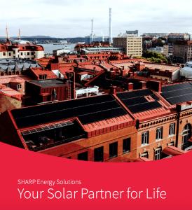 SHARP - tavo saulės energijos partneris visam gyvenimui