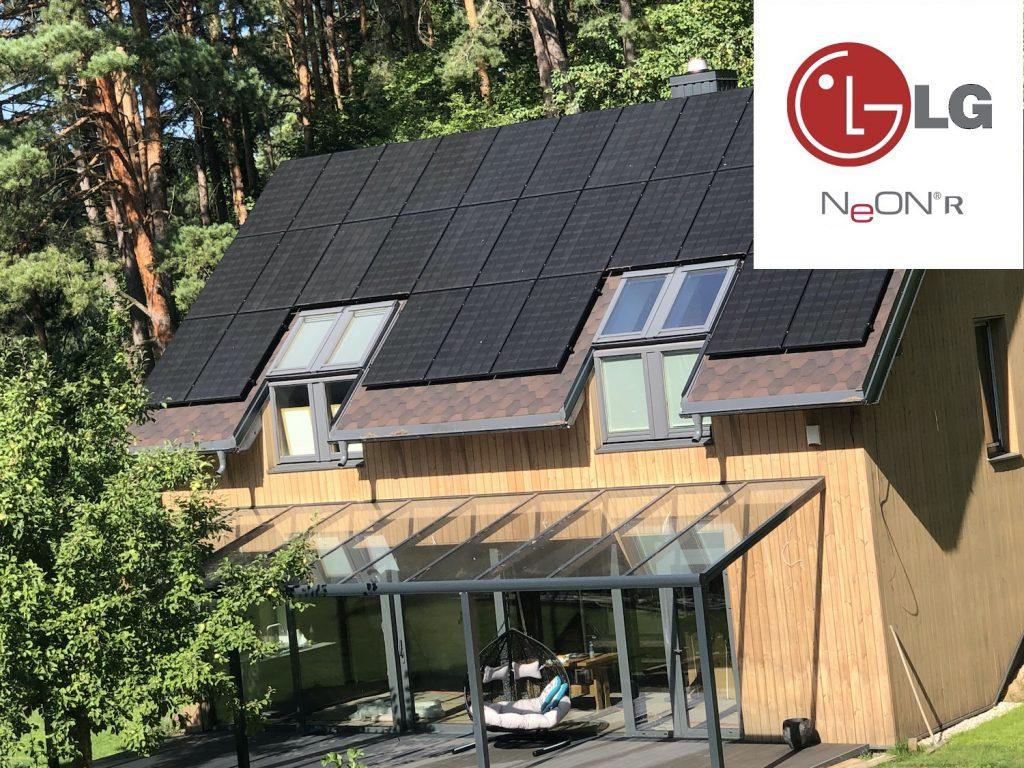 LG Solar saulės elektrinė