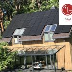 saulės elektrinė LG Solar