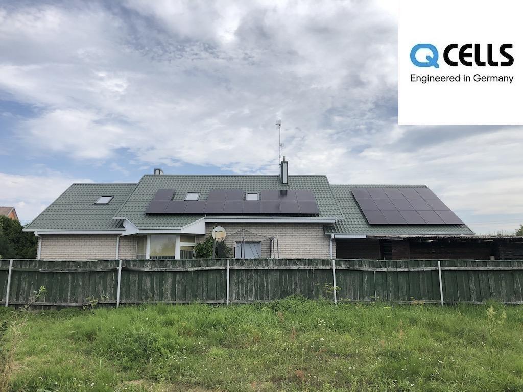 saulės elektrinė moduliai qcells