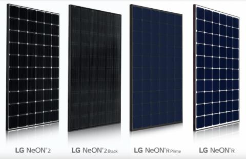 Saulės moduliai LG Solar