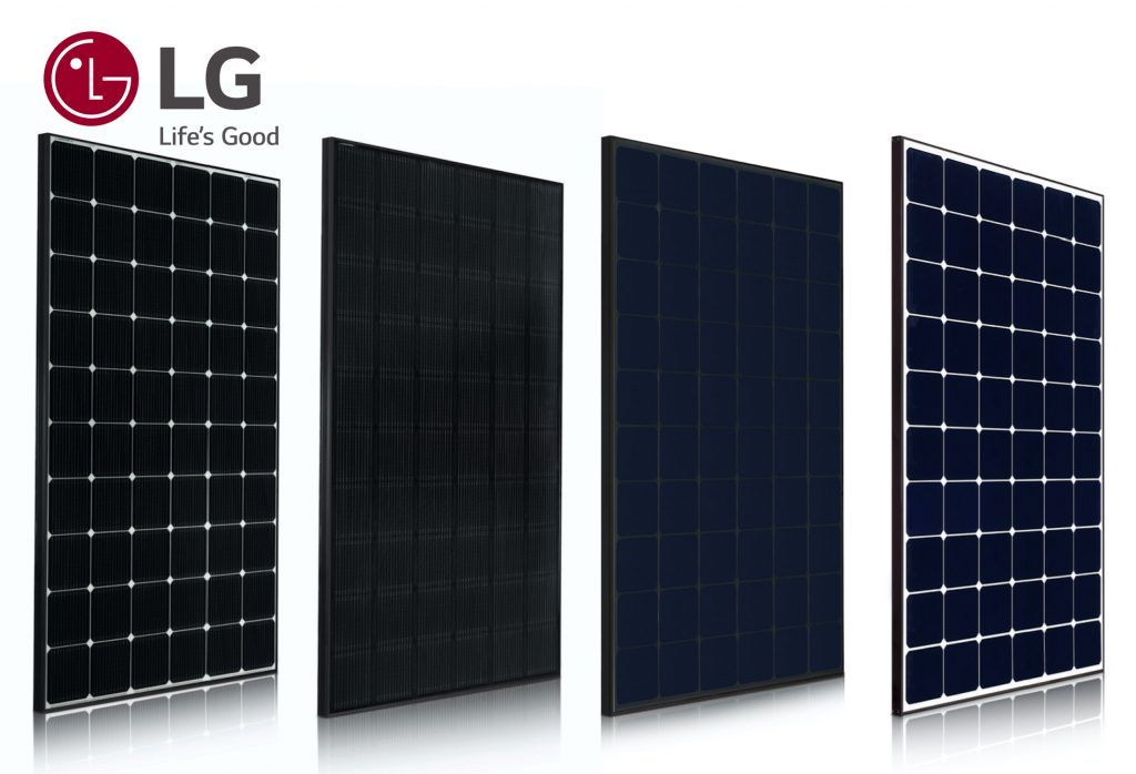 Moduliai LG SOLAR