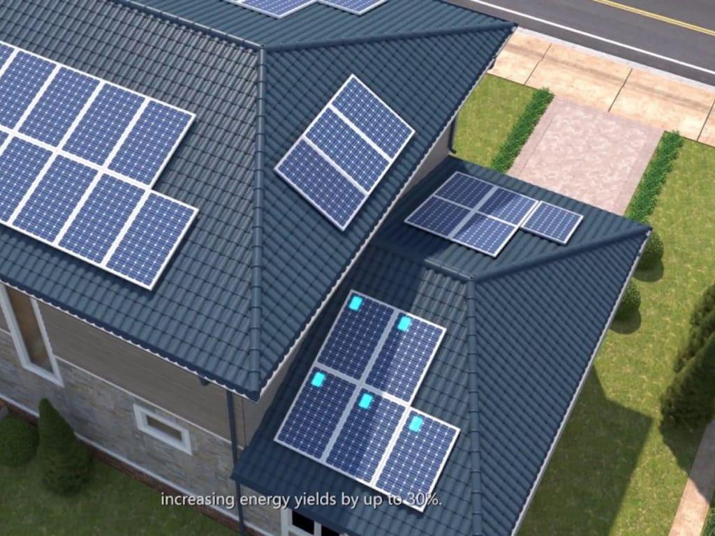 Optimizuotos saulės elektrinės