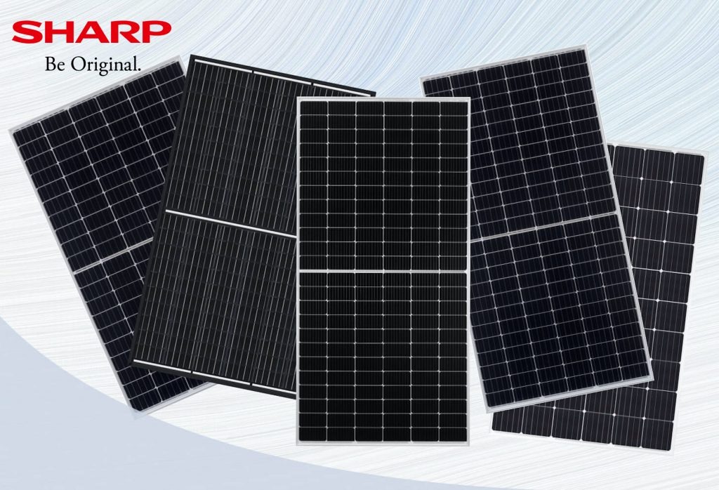 Saulės moduliai SHARP